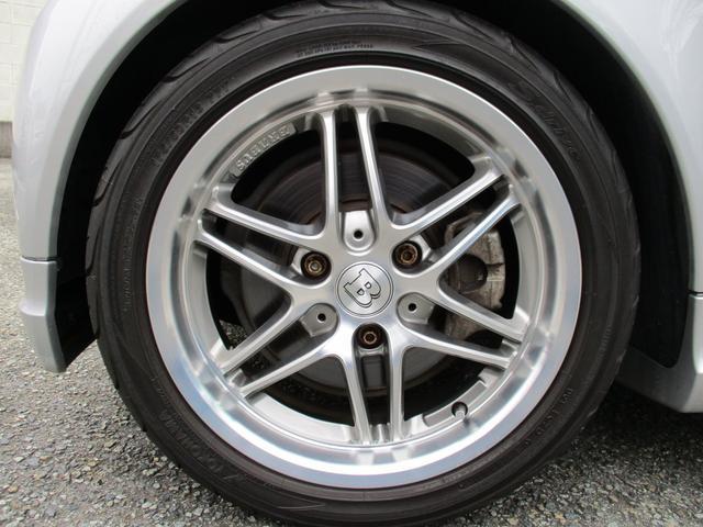 BRABUS エクスクルーシブ 特別仕様車200台限定モデル 専用スタイリングパッケージ BRABUS6ツインスポークAW ダークヘッドライト レザーシート シートヒーター パドルシフト クルーズコントロール スペアキー 取説記録簿(17枚目)