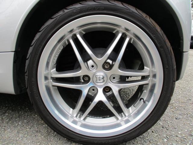 BRABUS エクスクルーシブ 特別仕様車200台限定モデル 専用スタイリングパッケージ BRABUS6ツインスポークAW ダークヘッドライト レザーシート シートヒーター パドルシフト クルーズコントロール スペアキー 取説記録簿(18枚目)