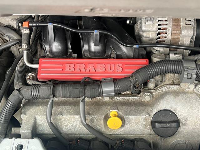 BRABUS エクスクルーシブ 特別仕様車200台限定モデル 専用スタイリングパッケージ BRABUS6ツインスポークAW ダークヘッドライト レザーシート シートヒーター パドルシフト クルーズコントロール スペアキー 取説記録簿(20枚目)