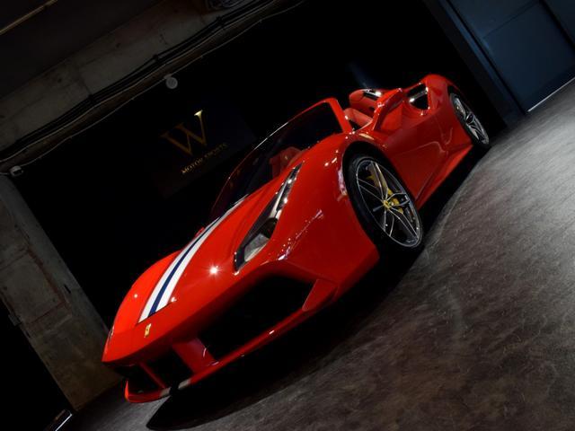 「フェラーリ」「フェラーリ 488スパイダー」「オープンカー」「兵庫県」の中古車49