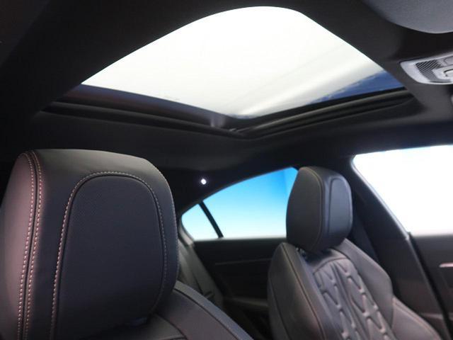 GT ブルーHDi ワンオーナー フルパッケージ サンルーフ ナッパ黒革 ACC フルLED アクティブブレーキアシスト ブラインドスポットモニター  レーンキープアシスト 純正SDナビ(5枚目)