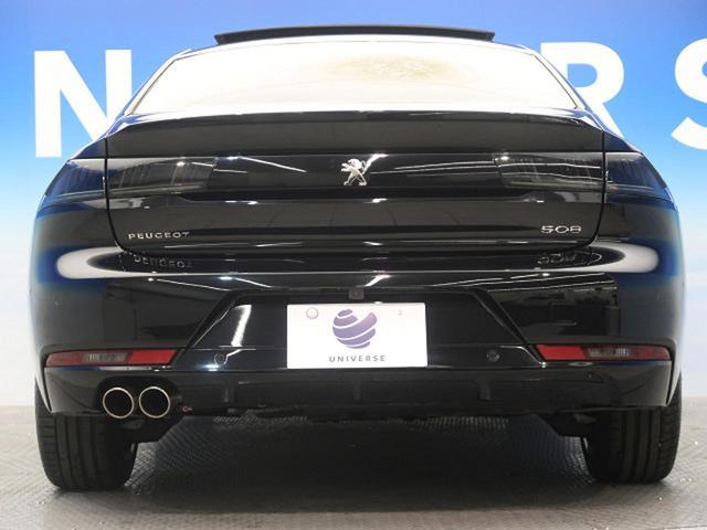 GT ブルーHDi ワンオーナー フルパッケージ サンルーフ ナッパ黒革 ACC フルLED アクティブブレーキアシスト ブラインドスポットモニター  レーンキープアシスト 純正SDナビ(18枚目)