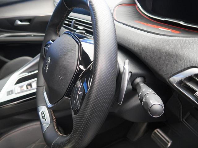 GT ブルーHDi パノラミックサンルーフ 衝突軽減ブレーキ アクティブクルーズコントロール フルLEDヘッドライト 純正ナビ フルセグTV バックカメラ ETC 電動リアゲート ハーフレザーシート 革巻きステアリング(30枚目)