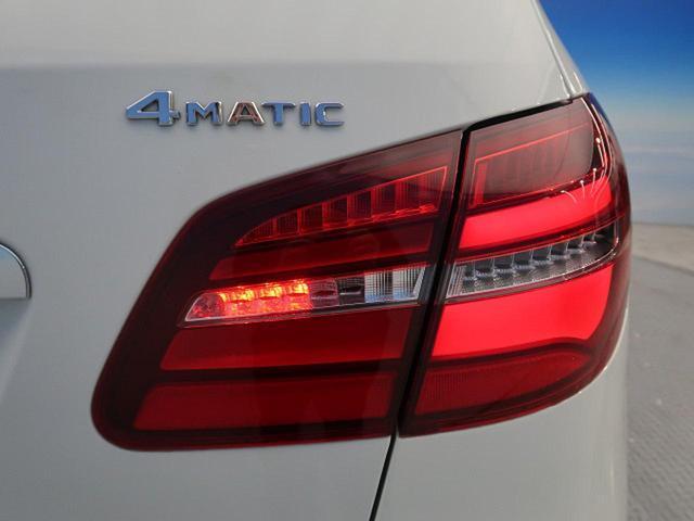 B250 4マチック スポーツ RセーフティPKG 純正ナビ フルセグTV バックカメラ LEDヘッドライト ビルトインETC 純正18インチAW ハーフレザーシート 前席ヒーター キーレスゴー AMGスタイリングエクステリア(55枚目)
