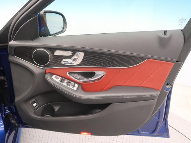 C200 ステーションワゴン スポーツ本革仕様 パノラミックスライディングルーフ 赤革 RセーフティPKG 純正HDDナビ フルセグTV バックカメラ LEDヘッドライト 純正18インチAW エアマチックサスペンション ヘッドアップディスプレイ(28枚目)