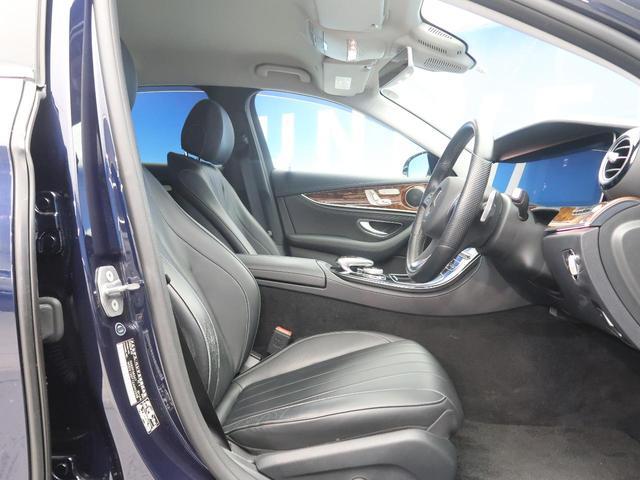E400 4マチック エクスクルーシブ 右ハンドル レーダーセーフティPKG ナッパ黒革シート 純正ナビ フルセグTV 全周囲カメラ マルチビームLEDヘッドライト 全席ヒーター 電動トランク エアマチックサスペンション 純正18インチAW(12枚目)