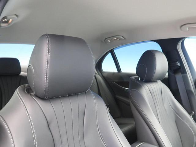 E400 4マチック エクスクルーシブ 右ハンドル レーダーセーフティPKG ナッパ黒革シート 純正ナビ フルセグTV 全周囲カメラ マルチビームLEDヘッドライト 全席ヒーター 電動トランク エアマチックサスペンション 純正18インチAW(45枚目)