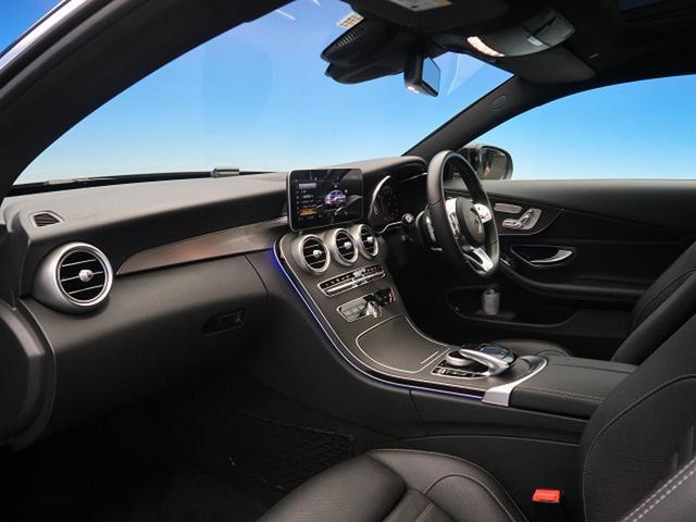 C180クーペスポーツレザーエクスクルシブパッケージ サンルーフ LEDヘッドライト 純正HDDナビ バックカメラ 純正AMG19インチアルミホイール 前席シートヒーター ヘッドアップディスプレイ(8枚目)
