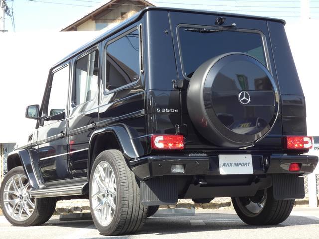 G350d ラグジュアリーパッケージ 後期型 サンルーフ 黒レザーシート ディストロニックプラス 後期用9インチHDDナビ地デジBカメラ Edition463専用21インチアルミホイール 禁煙車(3枚目)
