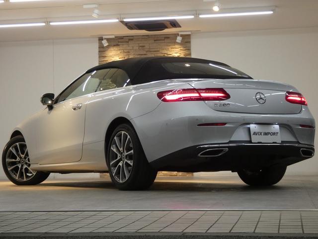 E200 カブリオレ レザーPKG ブラウンレザー レーダーセーフティPKG NEWステアリング 純正HDDナビ 地デジ 360°カメラ アップルカープレイ マルチビームLEDヘッドライト 禁煙 ワンオーナー 新車保証(5枚目)