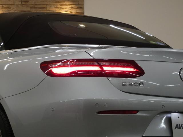 E200 カブリオレ レザーPKG ブラウンレザー レーダーセーフティPKG NEWステアリング 純正HDDナビ 地デジ 360°カメラ アップルカープレイ マルチビームLEDヘッドライト 禁煙 ワンオーナー 新車保証(7枚目)