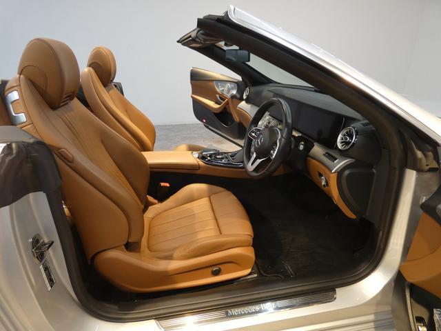 E200 カブリオレ レザーPKG ブラウンレザー レーダーセーフティPKG NEWステアリング 純正HDDナビ 地デジ 360°カメラ アップルカープレイ マルチビームLEDヘッドライト 禁煙 ワンオーナー 新車保証(16枚目)