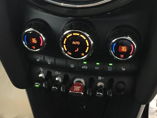 クーパー 弊社デモカー ストリートスタイル ブラックレザーシート フロントシートヒーター 後期モデル ユニオンジャックテールライト 衝突被害軽減ブレーキ LEDヘッドライト バックカメラ 前後障がい物センサー(19枚目)