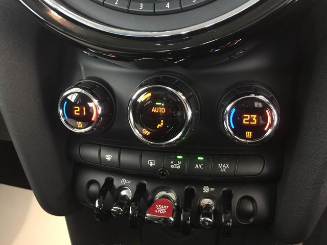 クーパー ナビパッケージ スポーツレザーステアリング LEDヘッドライト LEDフォグランプ ライトパッケージ ワンオーナー ブラックルーフ ホワイトウィンカー クロームインテリア(53枚目)