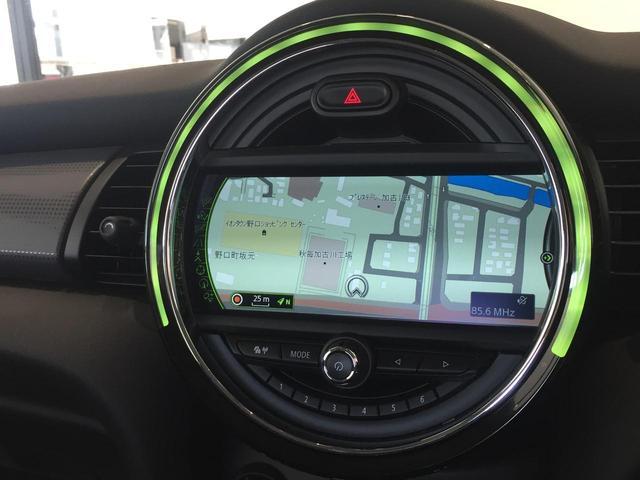クーパー ワンオーナー ペッパーパッケージ ナビパッケージ バックモニター LEDヘッドライト 走行距離10000km以下 純正15インチアルミホイール コンフォートアクセス 認定保証 純正HDDナビ スペア(11枚目)
