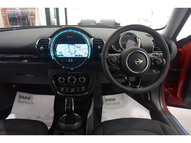 クーパーD クラブマン 弊社デモカー バックカメラ スマートキー 衝突被害軽減ブレーキ アクティブクルーズコントロール 純正タッチ式ナビ ユニオンジャックテールランプ LEDヘッドライト Bluetooth接続機能(14枚目)