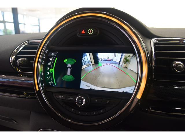 クーパーD クラブマン 弊社デモカー バックカメラ スマートキー 衝突被害軽減ブレーキ アクティブクルーズコントロール 純正タッチ式ナビ ユニオンジャックテールランプ LEDヘッドライト Bluetooth接続機能(21枚目)