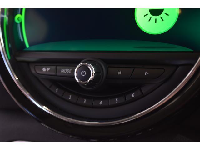 クーパーD クラブマン 弊社デモカー バックカメラ スマートキー 衝突被害軽減ブレーキ アクティブクルーズコントロール 純正タッチ式ナビ ユニオンジャックテールランプ LEDヘッドライト Bluetooth接続機能(28枚目)