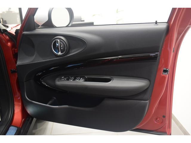 クーパーD クラブマン 弊社デモカー バックカメラ スマートキー 衝突被害軽減ブレーキ アクティブクルーズコントロール 純正タッチ式ナビ ユニオンジャックテールランプ LEDヘッドライト Bluetooth接続機能(55枚目)