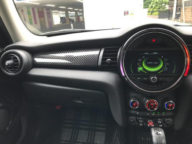 クーパーS 正規ディーラー車 純正LEDヘッドライト 純正LEDフォグライト 純正HDDナビパッケージ 純正ブラックホイール ブラックルーフ ミラーETC LEDパッケージ プッシュスタート(41枚目)