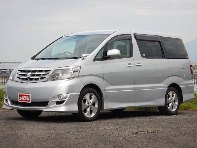 トヨタ 2.4AS 7人乗 両側電動 純正HDDナビ バックソナー
