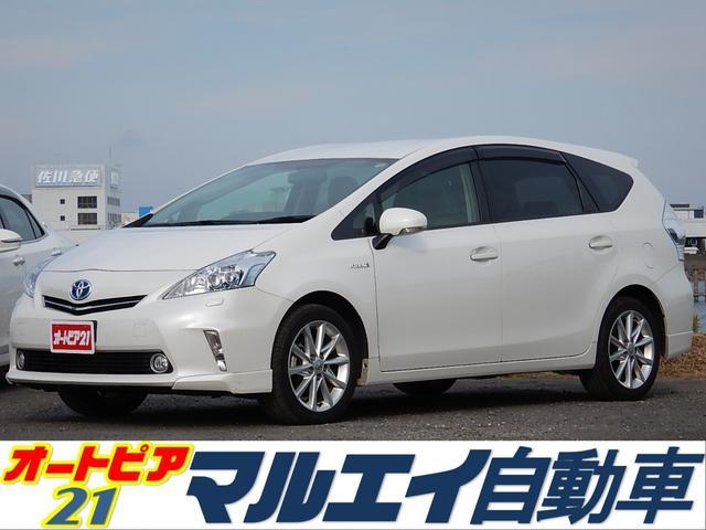 トヨタ Gツーリングセレクション 純正SDナビ フルセグ