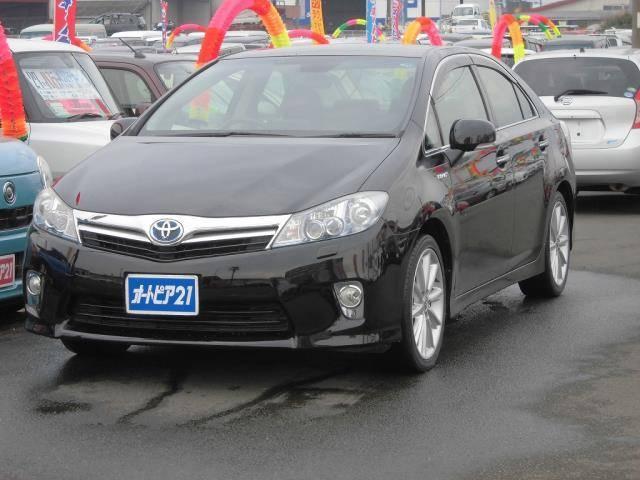 トヨタ G純HDDナビ地デジBカメラ前席パワーシート車検整備付