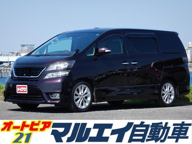 トヨタ 2.4Z 7人乗 両側電動 ツインルーフ MOPナビ