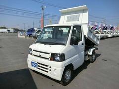 ミニキャブトラック4WD PTO油圧式ダンプ