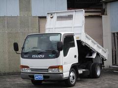 エルフトラック2トン低床強化ダンプ4WD