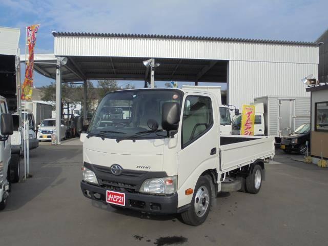 トヨタ ダイナトラック 積載2000kg-低床平ボディー