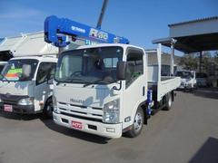 エルフトラック積載3000KG−3段クレーン・ラジコン車