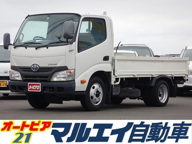 トヨタ 4.0DT 2t平ボディ 低床 木製ジャストロー