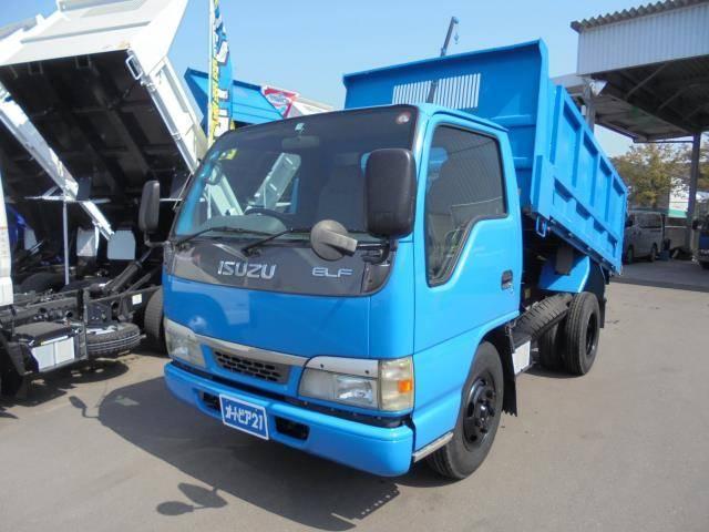 いすゞ エルフトラック 積載2000kg-高床・深ダンプ