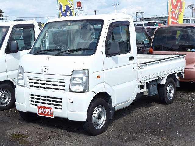 マツダ KCスペシャル エアコン パワステ ナビ 地デジ 4WD ETC付