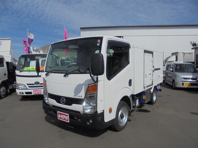 日産 アトラストラック  -30℃冷蔵冷凍車 東プレ冷凍機 2wayスタンバイ サイドドア