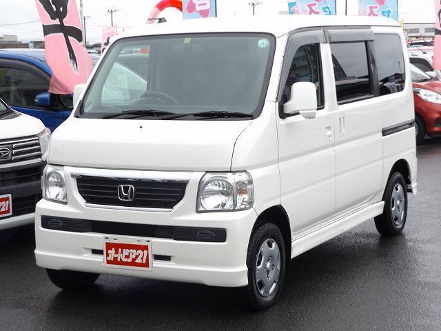 ホンダ バモス M CD 4WD キーレス エアバック ライトレベライザー付