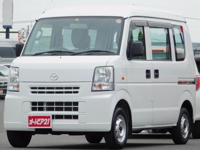 マツダ スクラム PA 5速マニュアル FMAMラジオ ライトレベライザー 走行66500km 助手席ABG 車輌取扱説明書付