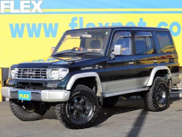 トヨタ SXワイド 1KZ 2インチUP 新品クリムソン16AW