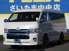 ハイエースワゴンGL 4WDトヨタセーフティ付 トリプルモニター