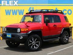 FJクルーザーレッドカラーパッケージ 特別仕様車 17AW SDナビBカメ