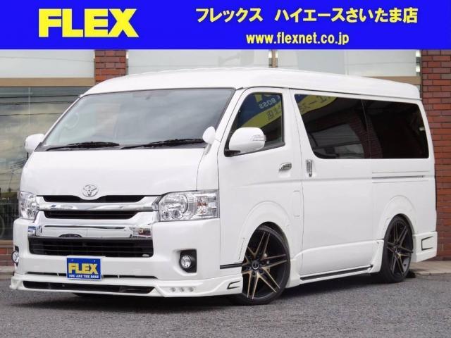 トヨタ 2.7 GL ロング ミドルルーフ ROWENフルエアロ