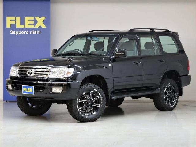 トヨタ 4.2 VX ディーゼルターボ 4WD 新全塗装済みブラック