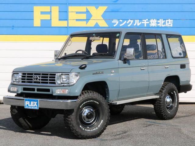 トヨタ 3.0 SXワイド ディーゼルターボ 4WD デニム内装