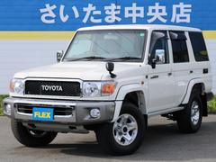 ランドクルーザー704.0 4WD 買取直販 前後デフロック NARDIハンドル