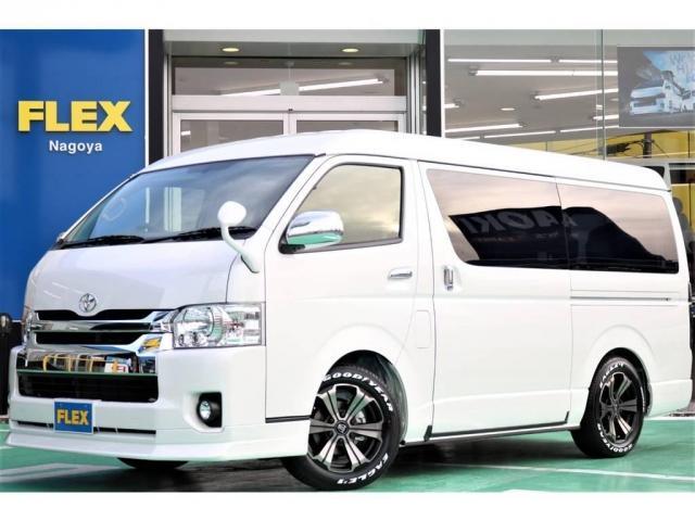 トヨタ 2.7 GL ロング ミドルルーフ 4WD キャプテンシート