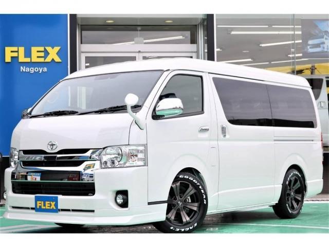 トヨタ 2.7 GL ロング ミドルルーフ TSS付 REVOシート