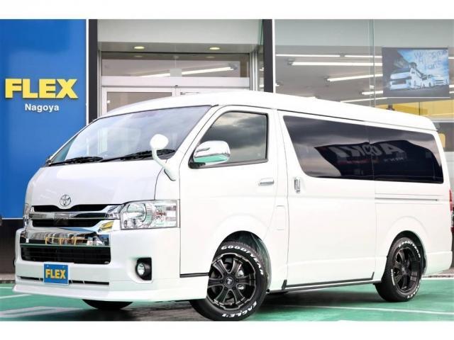 トヨタ 2.7 GL ロング ミドルルーフ 4WD トリプルモニター
