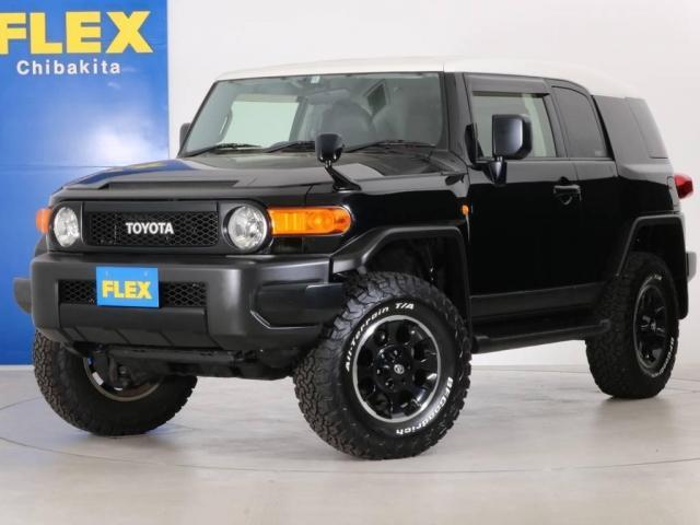 トヨタ 4.0 ブラックカラーパッケージ 4WD 新品2インチUP