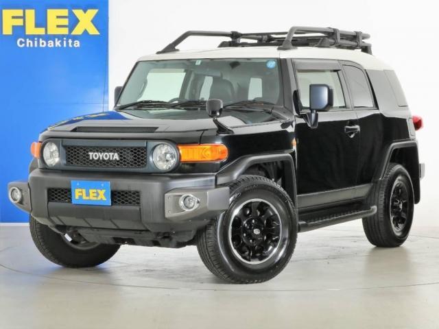 トヨタ 4.0 ブラックカラーパッケージ 4WD SDナビ 純正ルー
